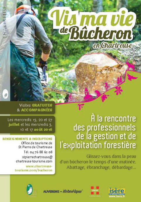 Vis ma vie de b cheron saint pierre de chartreuse ski - Office tourisme st pierre de chartreuse ...