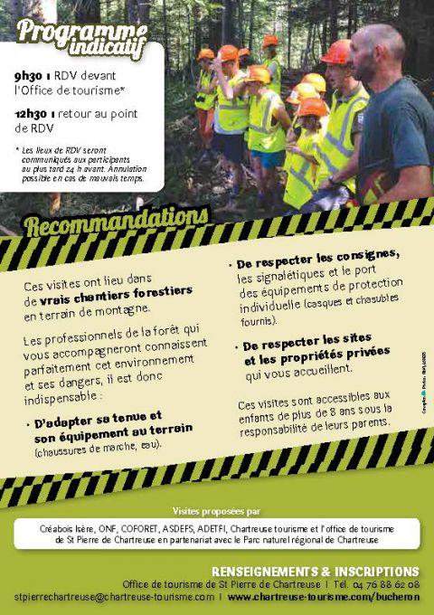 Vis ma vie de b cheron saint pierre de chartreuse ski - Office de tourisme st pierre de chartreuse ...